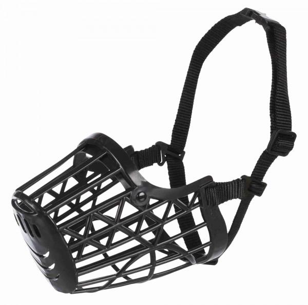 Trixie Hunde Maulkorb aus Kunststoff, schwarz, Gr. XS - XL