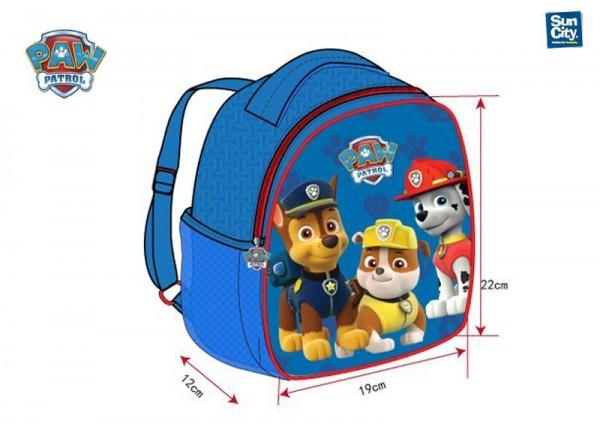 Nickelodeon Paw Patrol Kinderrucksack, blau, 22x19x12cm