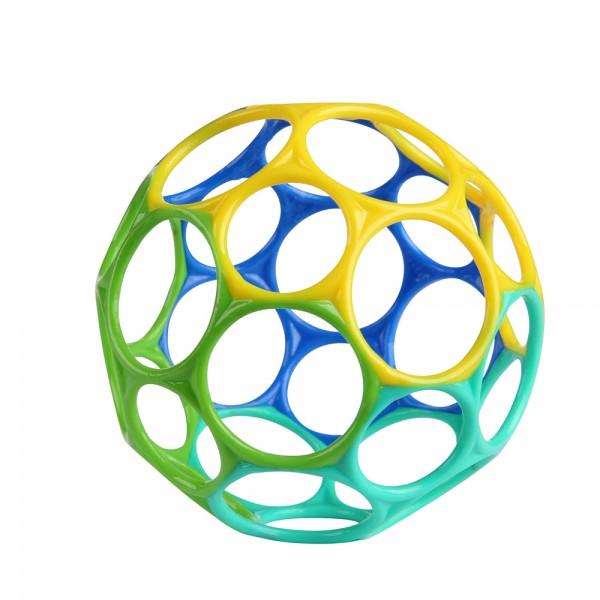Oball 10 cm - Blau/Grün, Greifball Spielzeug für Babys ab 0+ Monate