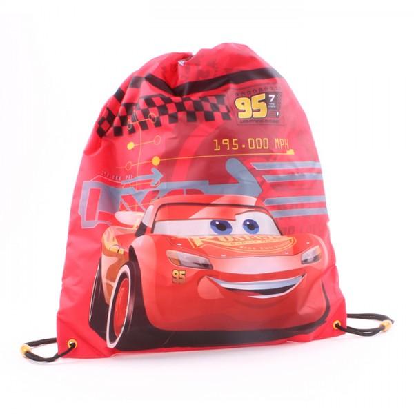 "Disney ""Cars 3"" Race Experience Kinder Turnbeutel Sportbeutel, 44x37cm, rot"
