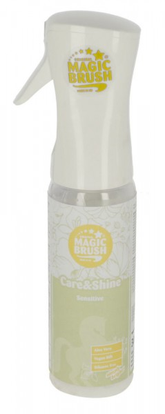 MagicBrush Care&Shine Sensitive Pflegespray für Pferde, 300 ml
