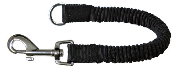 Trixie Ruckdämpfer, L-XL: 35 cm/25 mm, schwarz