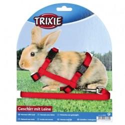 Trixie Kaninchen-Garnitur mit Leine + Schnappverschl