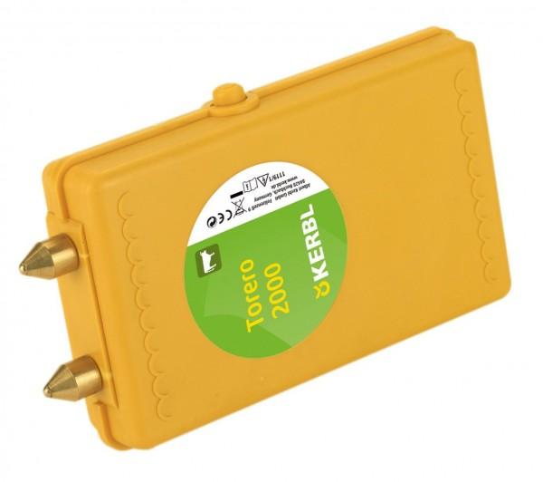 Viehtreiber Torero 2000 - mit Abschaltautomatik 1s, Elektroschocker inkl. Alkaline-Batterie