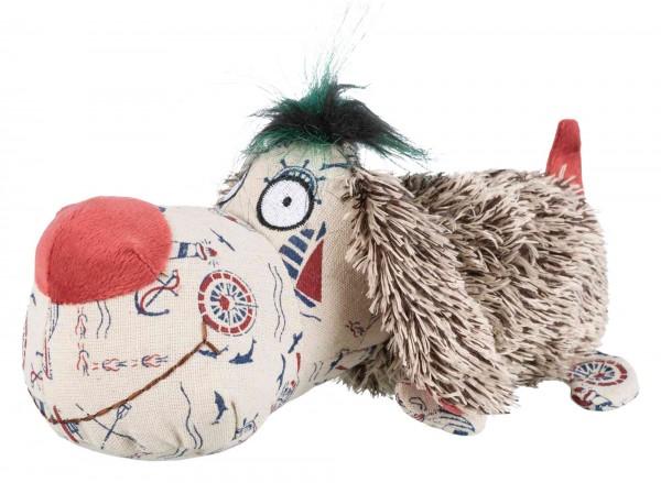 Trixie Hundespielzeug Hund aus Plüsch mit Stimme, 25 cm
