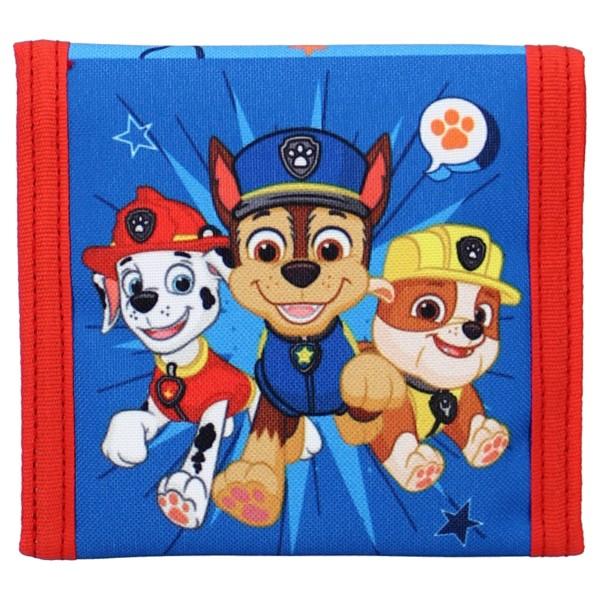 Paw Patrol Kinder Geldbörse Geldbeutel Portemonnaie, 10 x 10 cm, blau