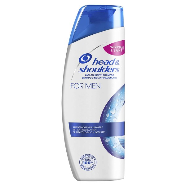 Head & Shoulders Anti-Schuppen Shampoo For Men, 300ml