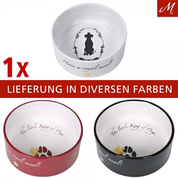 Trixie Hundekönig Keramiknapf - 1,4 l/ø 20 cm, diverse Farben