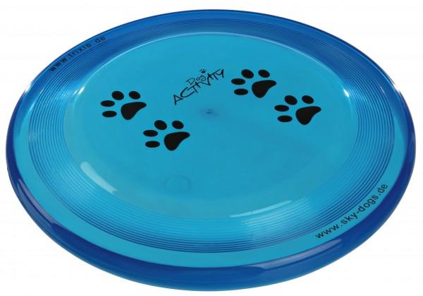Trixie Dog Disc Frisbee bissfest - 19 cm, diverse Farben