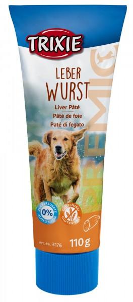 Trixie Premio Leberwurst für Hunde, 110 g