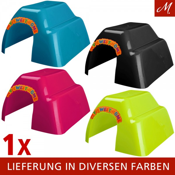 Trixie Meerschweinchenhaus aus Kunststoff, 23x15x26cm, diverse Farben
