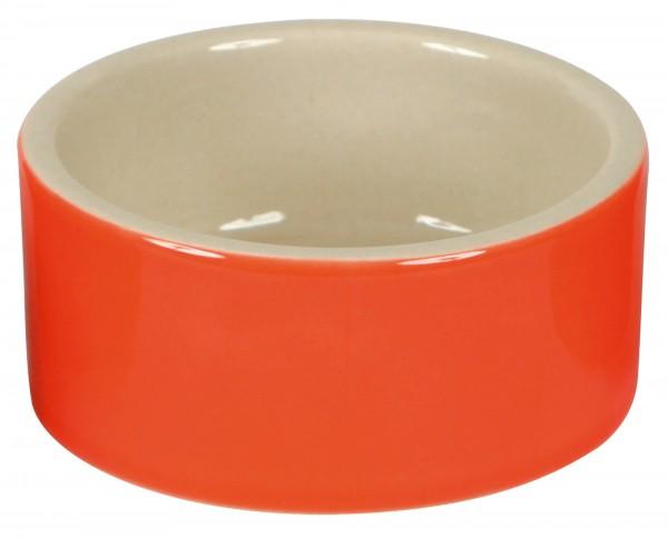 Hamsternapf, Keramik, 150 ml, farblich sortiert, Außenseite glasiert