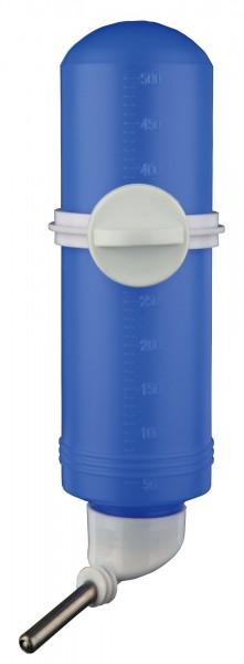 Trixie Kleintiertränke, Trinkflasche mit Käfighalter - 500 ml