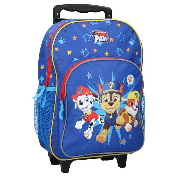 Paw Patrol Kinder Trolley-Rucksack Kinderkoffer, 28x28x16 cm, blau
