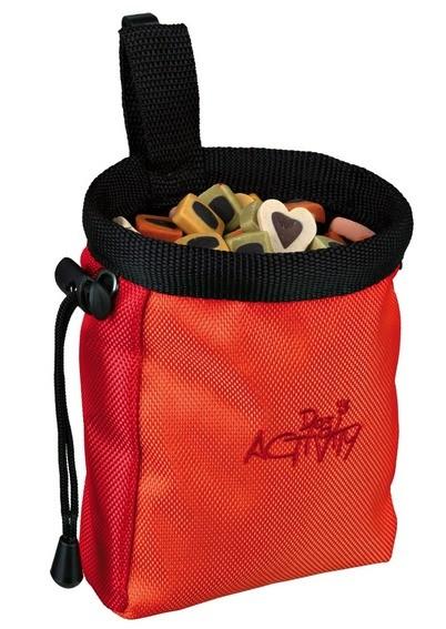 Trixie Snack-Tasche Baggy de Luxe - ø10x14cm, diverse Farben