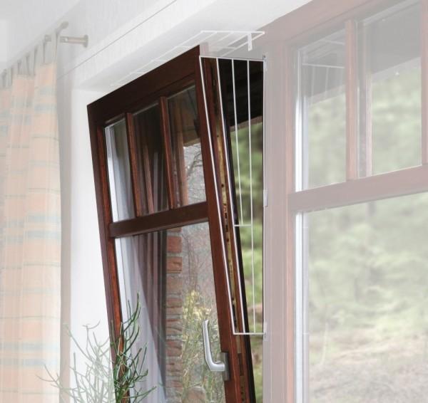 Trixie Kippfenster-Schutzgitter, Seitenelement, weiß - 62x16/8cm, inkl. Schrauben