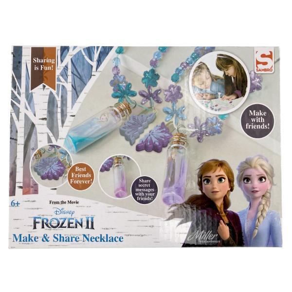 "Disney ""Frozen 2"" Kinder Freundschaft Halsketten DIY Bastelset Schmuckset"