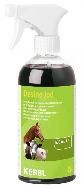 Desino Jod, Desinfektionsspray, Euterpflege, 500ml