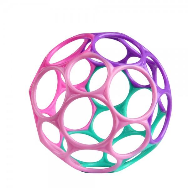 Oball 10 cm - Pink/Lila, Greifball Spielzeug für Babys ab 0+ Monate