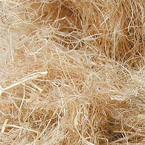 Nistmaterial Hanffasern für Vögel, 500g