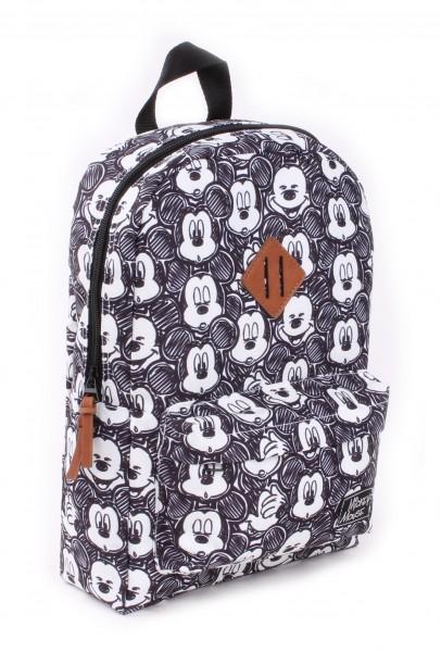 Disney Rucksack Mickey Mouse My Little Bag, 34x23x13 cm, schwarz, Polyester