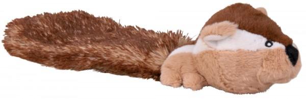 Trixie Plüschspielzeug Streifenhörnchen mit Stimme, ca. 30 cm