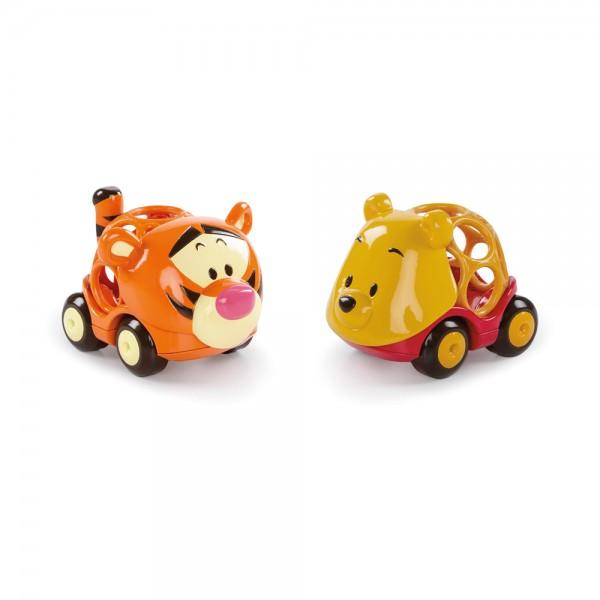 Oball Go Grippers Winnie Pooh 2er Set, Spielzeug Autos für Babys ab 18+ Monate