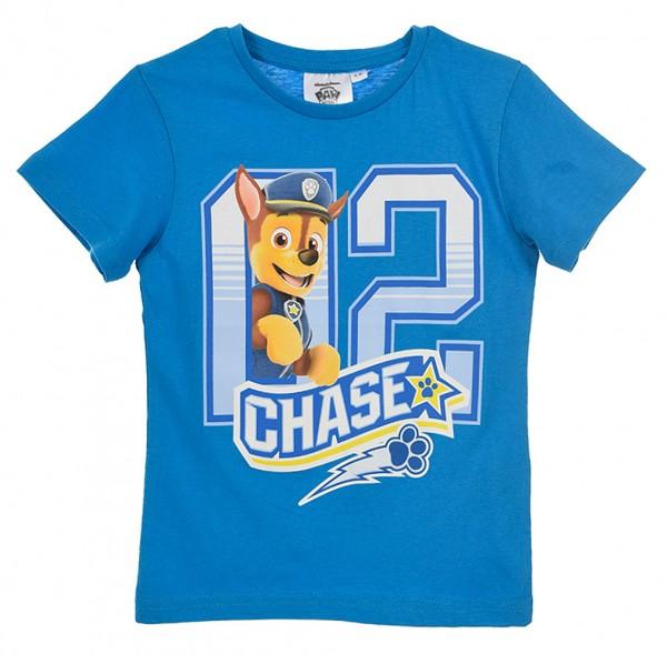 Paw Patrol T-Shirt für Jungen mit Chase Motiv, blau