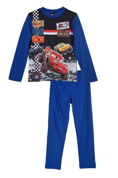 Disney Cars Kinder Schlafanzug mit Motiv, 2-teilig, blau