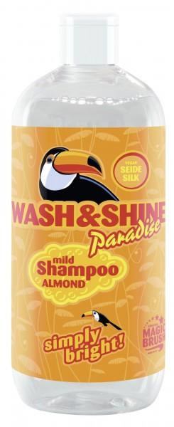 MagicBrush - Wash&Shine Shampoo Paradise für Pferde, mit veganer Seide, 500 ml