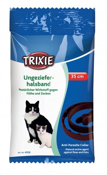 Trixie Natürliches Ungezieferband für Katzen - 35 cm