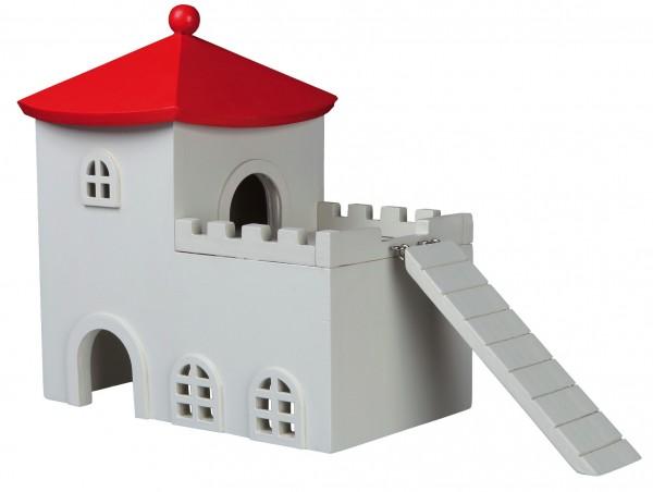 Trixie Holzhaus, Nagerhaus, 40x31x15 cm für z.B.: Mäuse, Hamster