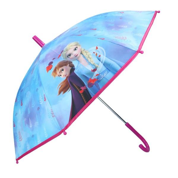 """Disney """"Frozen 2"""" Kinder Regenschirm Stockschirm, ∅ 72 cm, blau"""