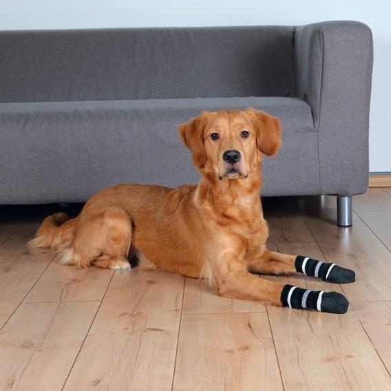 Hundesocken, Anti-Rutsch, XS–S, 2 St., schwarz