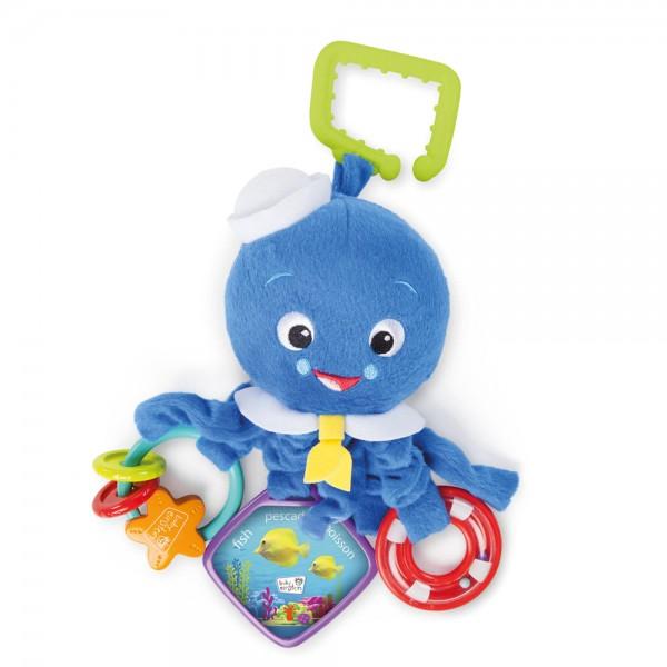 Baby Einstein Activity Arm Octopus Spielzeug für Babys ab 0+ Monate, blau