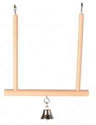 Trixie Trapezschaukel mit Glocke - 12 x 13 cm
