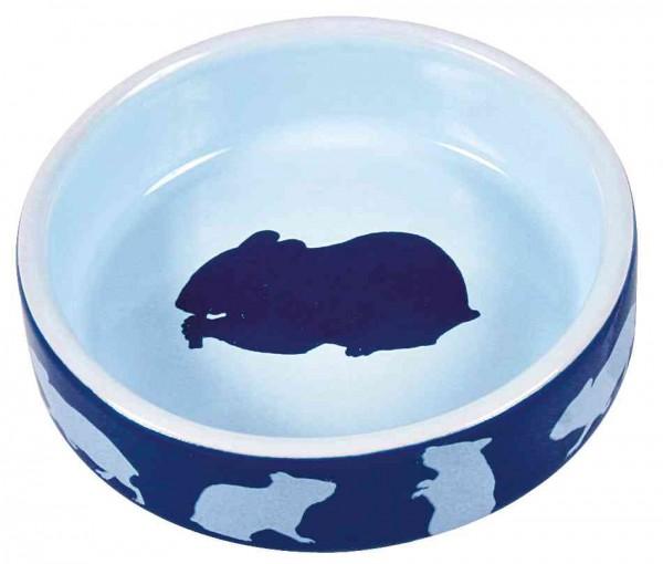 Trixie Hamster Keramiknapf, 80 ml/ø 8 cm, diverse Farben