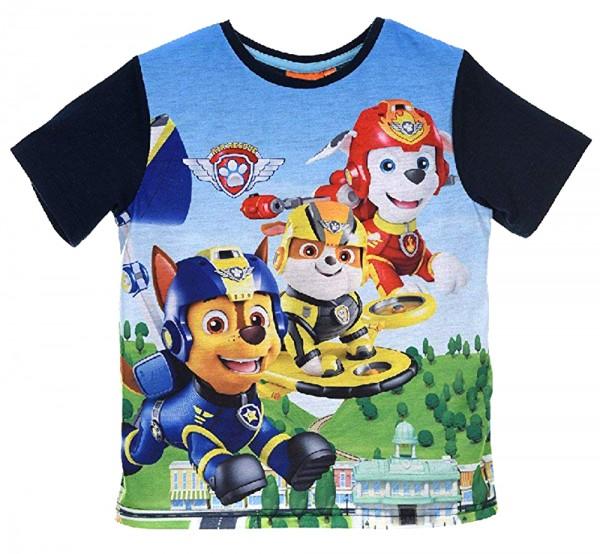 Paw Patrol T-Shirt für Jungen mit Air Patrol Motiv, Marine