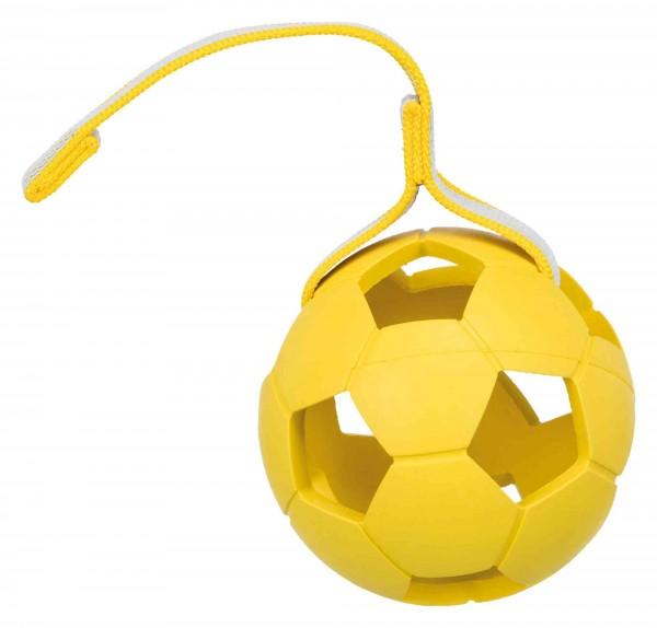 Trixie Sporting Ball am Gurt, Naturgummi, ø 11 cm/30 cm, diverse Farben