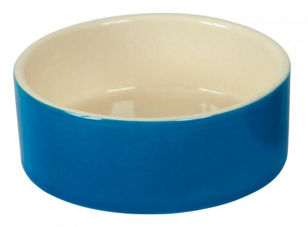 Kaninchennapf, Keramik, 250 ml / Ø 11 cm, farblich sortiert, Außenseite glasiert