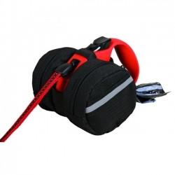 Trixie Packtasche fTrixie Packtasche für Roll-Leinen - S-M: 9 cm, schwarz