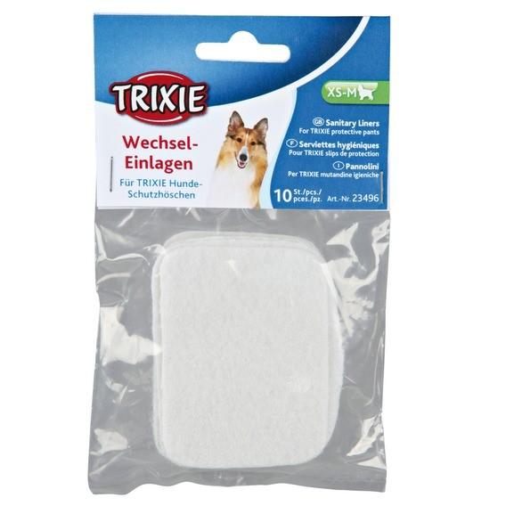 Trixie Wechseleinlagen für Schutzhöschen - 10 Stück - M