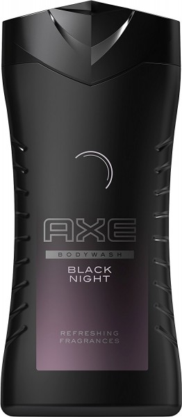 Axe Duschgel Black Night für Männer, 250 ml - Für eine vielversprechende Nacht