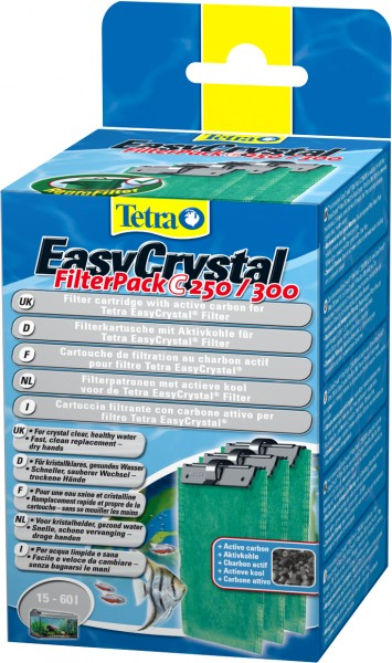 Tetra EasyCrystal FilterPack C250/300 mit Aktivkohle