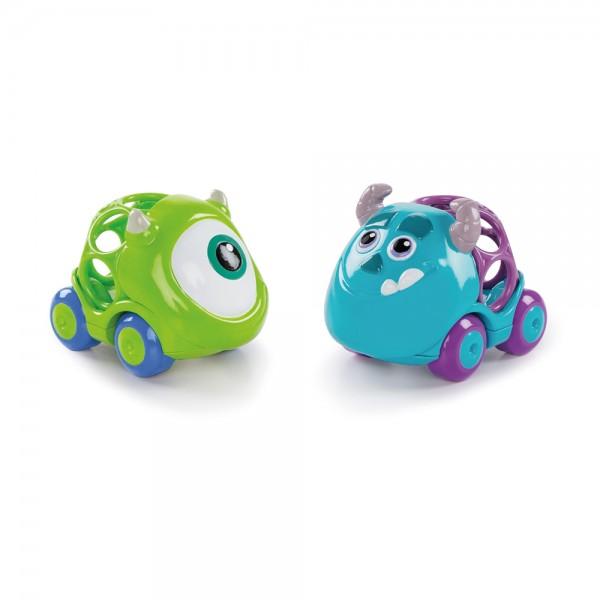 Oball Go Grippers Die Monster AG 2er Set, Spielzeug Autos für Babys ab 18+ Monate