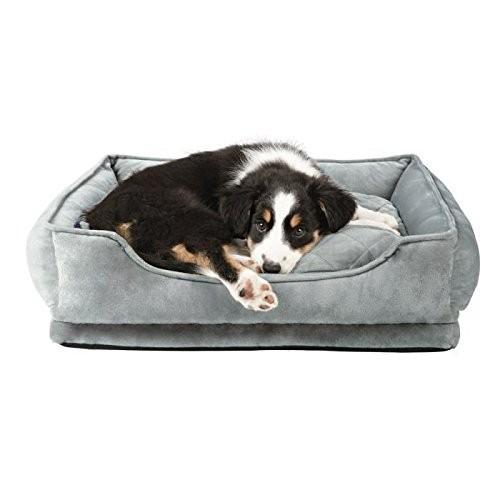 Trixie Hundebett Pino, 50x40 cm, Softplüsch-Bezug, rutschfester Boden
