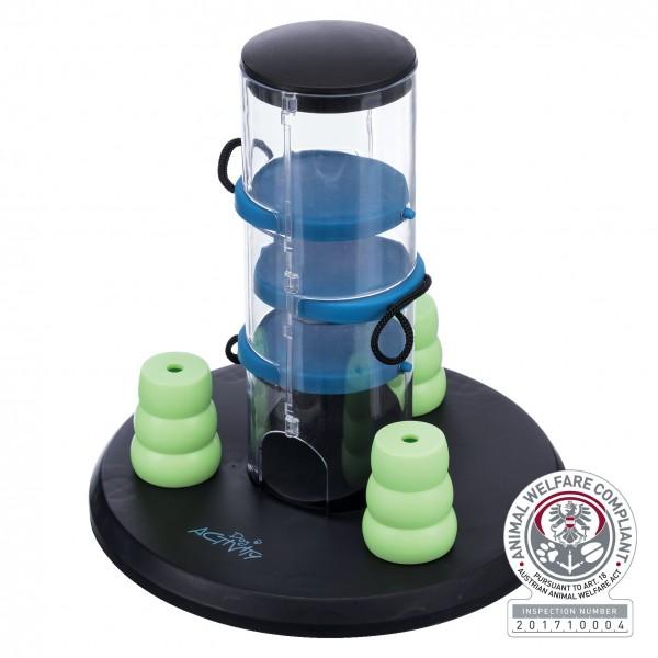 Trixie Dog Activity Gambling Tower Strategiespiel für Hunde, ø 25 cm/27 cm