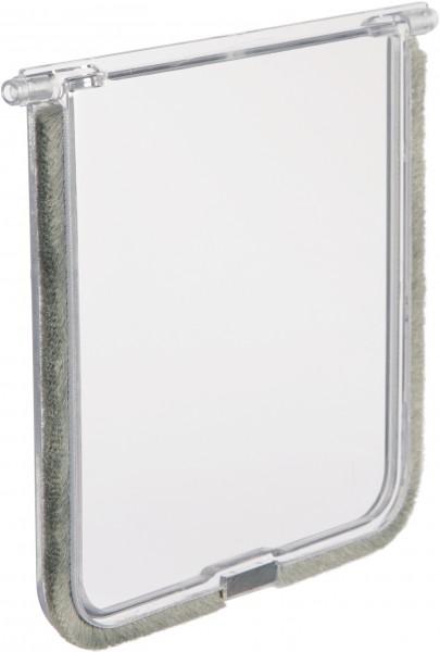 Trixie Ersatzklappe für Katzentür FreeCat #3860/3862/3863/3864, 14,7x15,8 cm, weiß