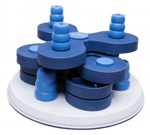 Trixie Flower Tower Hunde-Strategiespiel, Ø 30 cm/13 cm, blau