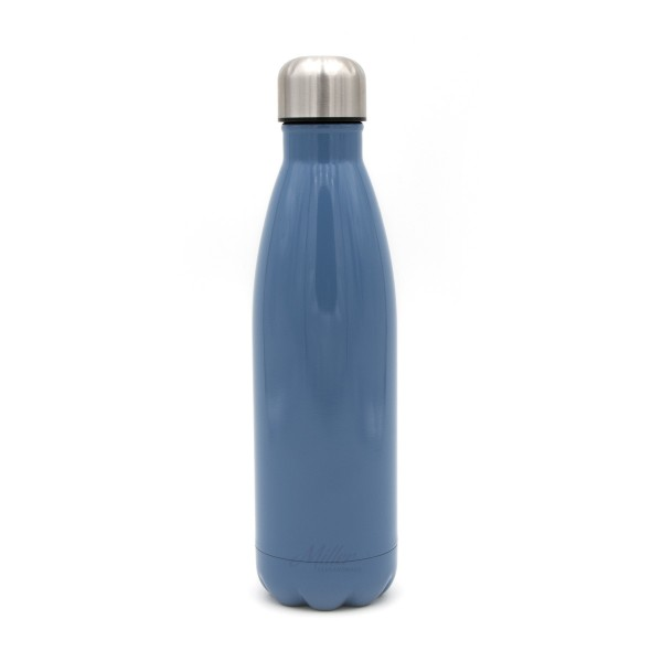 Thermosflasche Isolierflasche Retro Colors Vintage Design, 500 ml, blau